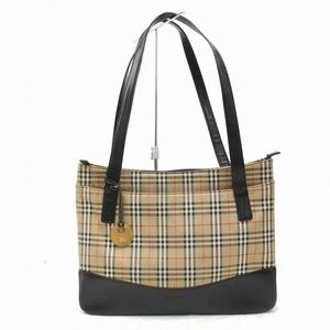 BURBERRY Tote Bag Browns Canvas